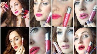 Тестирую оттенки жидкой губной помады-мусс The ONE Lip Sensation. Особенности нанесения