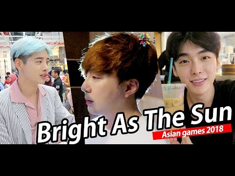 Bright As The Sun - Korean Version (Asian Games 2018 OfficialSong) Sung By G T I