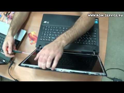 Как заменить матрицу на ноутбуке Lenovo G505, G500