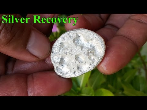 Information Secret Formula Silver Recovery Methods Video Easy, Recycling Contact Relay Magnetic