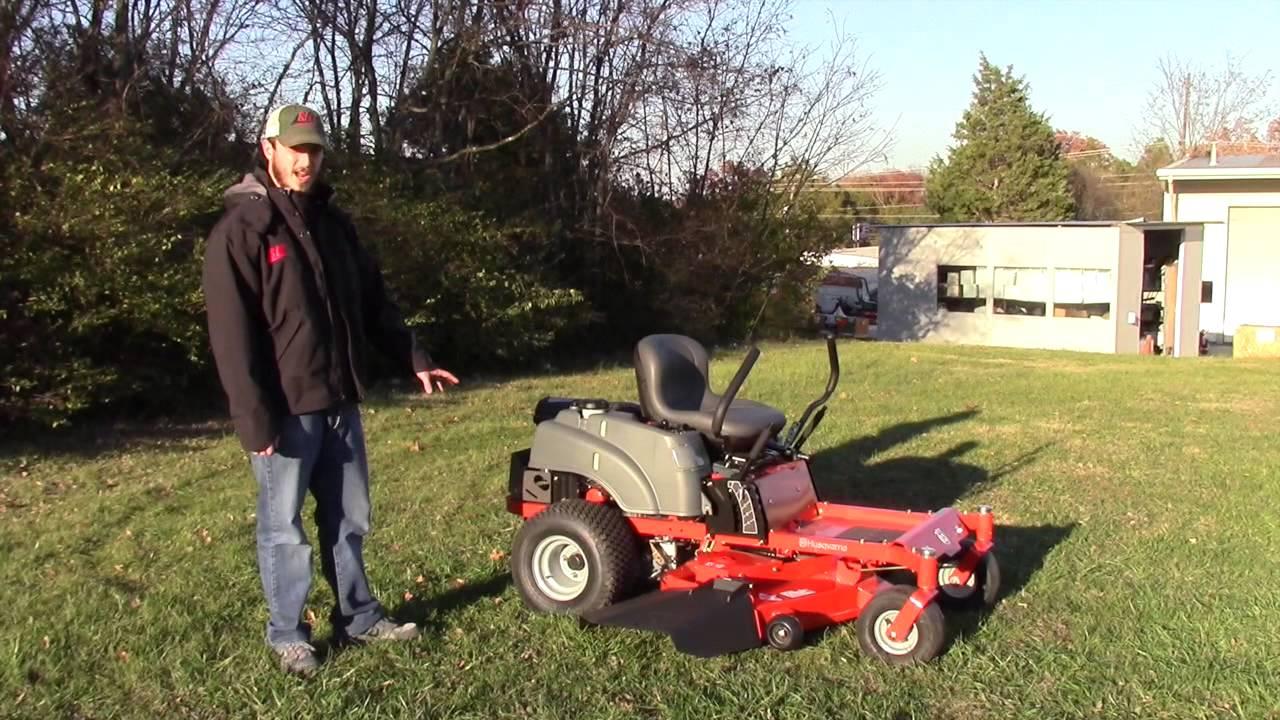 Husqvarna Rz4824f Zero Turn Lawn Mower Reivew Youtube