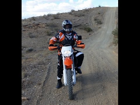 Holy Jim Canyon ride on KTM EXC500