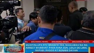 Panayam kay Sen. Koko Pimentel kaugnay ng paglalabas ng warrant of arrest para kay Sen. de Lima