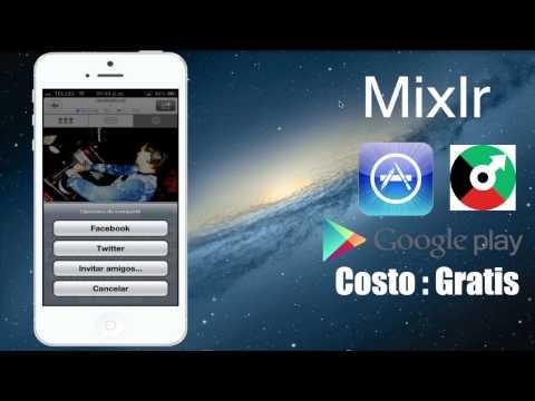 Mixlr: Crea Emisoras de Radio via WI-FI con tu Dispositivo iOS y Android . App
