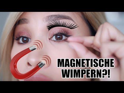 Magnetische Wimpern Im Live Test L Kisu