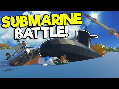 NUCLEAR SUB INVADES THE CITY IN AN EPIC BATTLE! - Tiny Town VR Gameplay - Oculus VR Game