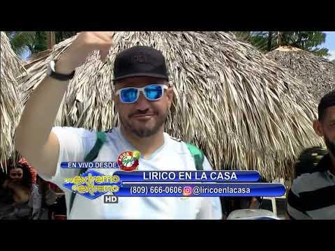Lirico en la Casa Presentación Musical Desde Agua Splash Caribe
