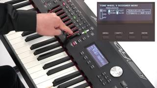 """""""Using Tone Color and Harmonic Bars"""" Roland RD-2000 #08"""