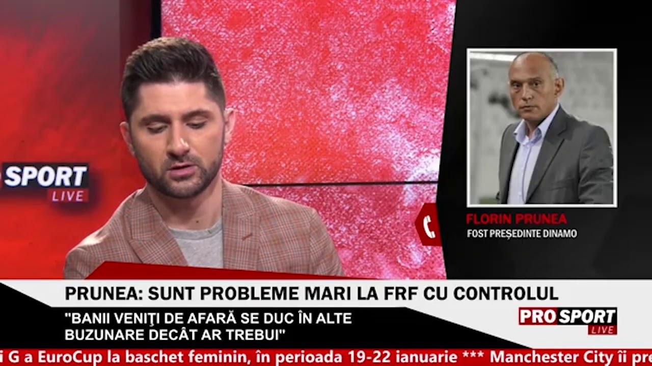 """Florin Prunea: """"Nu stiu ce mai poate fi facut la Dinamo"""""""