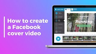 How to Create a Facebook Cover Video in Wave.video | Tutorial