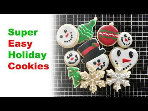 Super Simple Holiday Cookies