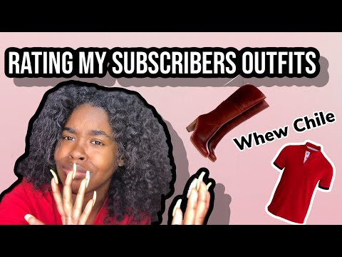 Rating My Subscribers Outfits Pt/2 |ft ISEE Hair Aliexpress|
