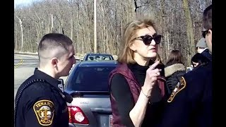 New Jersey Mom Tries Pulling Rank On Cops (VIDEO)