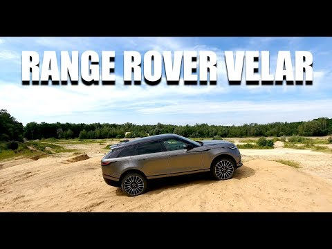 Range Rover Velar Luxury SUV (ENG) - Test Drive and Review