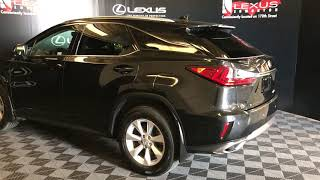 Black 2016 Lexus RX 350 Standard Package Review Edmonton Alberta - Lexus of Edmonton