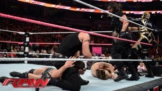 Daniel Bryan, Goldust and Cody Rhodes vs. The Shield: Raw, Oct. 7, 2013
