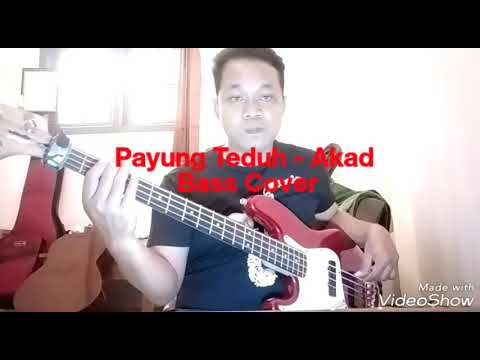 Payung Teduh - Akad Cover (bass) by IGe