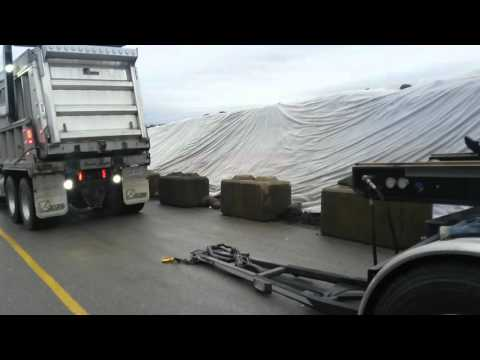 DUMP TRUCK AND TRANSFER THE BROWN SUGAR WAY