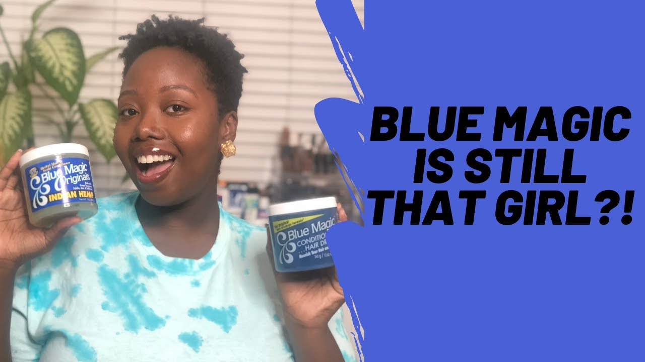 Download I TRIED BLUE MAGIC ON MY 4C HAIR ∣ BLUE MAGIC INDIAN HEMP HAIR GREASE REVIEW & GIVEAWAY