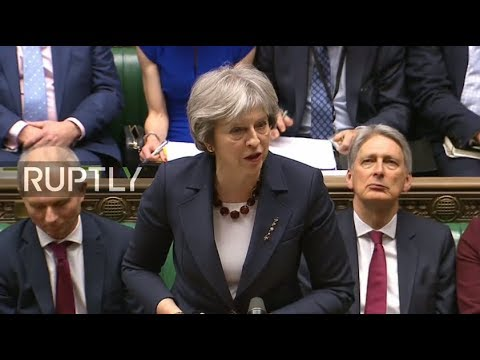 LIVE: UK's May to announce action against Russia over Salisbury poisoning case