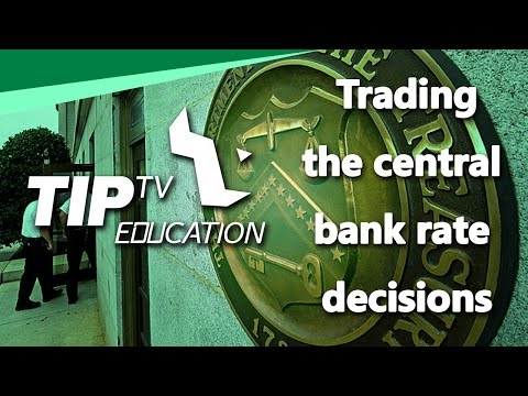 Trading the central bank rate decisions - FXMasterCourse