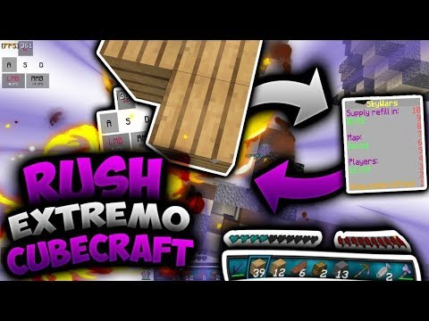 😎RUSH EXTREMO CON BREEZILY Y MOONWALK ~~ CUBECRAFT😱