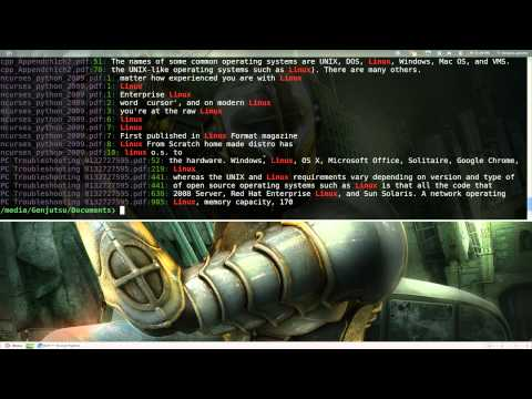 Pdfgrep - Search Text Inside PDF Files - Linux CLI