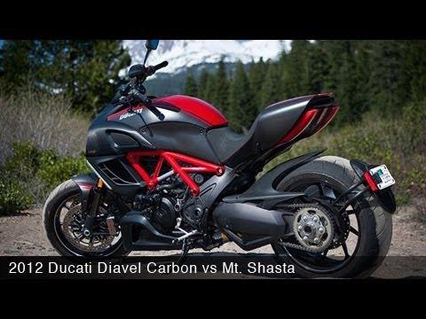 Motousa 2012 Ducati Diavel Carbon Vs Mt Shasta Youtube