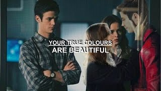 Barry and Caitlin 3x07 | True Colours