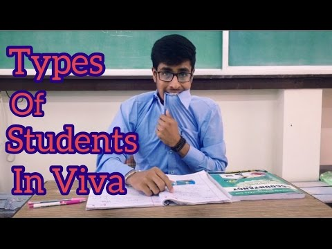 Types of Students in VIVA | EXAMS | Funny Indian VIVA | Funny Comedy Video | Funny VIVA | SAN