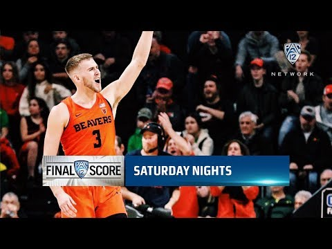 Oregon State Beavers - Beavers top Ducks 72-57 and sweep Civil War!
