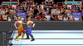 WWE Road to Wrestlemania X8 FULL FINISHERS (GBA)