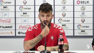 """Rubén García: """"Tenemos ganas de ir a por la victoria y hacer un buen partido"""""""