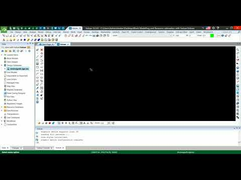 Creating a Geological Database in Maptek Vulcan