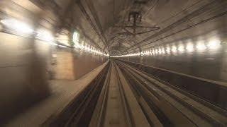 (HD)疑似体験 北海道新幹線青函トンネル内前方車窓