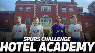 CHALLENGE | SPURS VISIT HOTELS.COM HOTEL ACADEMY