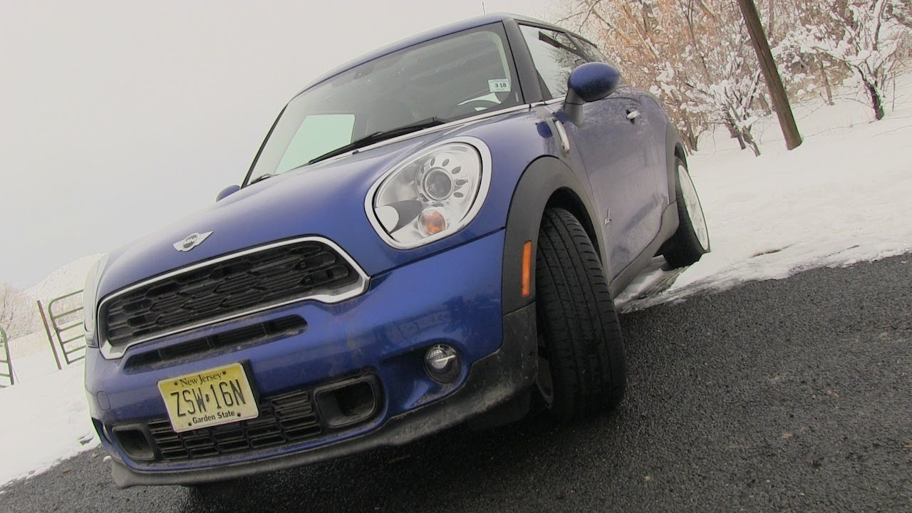 2013 mini cooper s paceman 0-60 mph drive & review - youtube