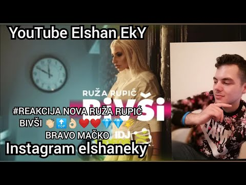 RUZA RUPIC – BIVSI (OFFICIAL VIDEO) REAKCIJA NOVA PESMA BRAVO RUKI🤩🤩💎🌠👌🏻💪🏻💪🏻🔟