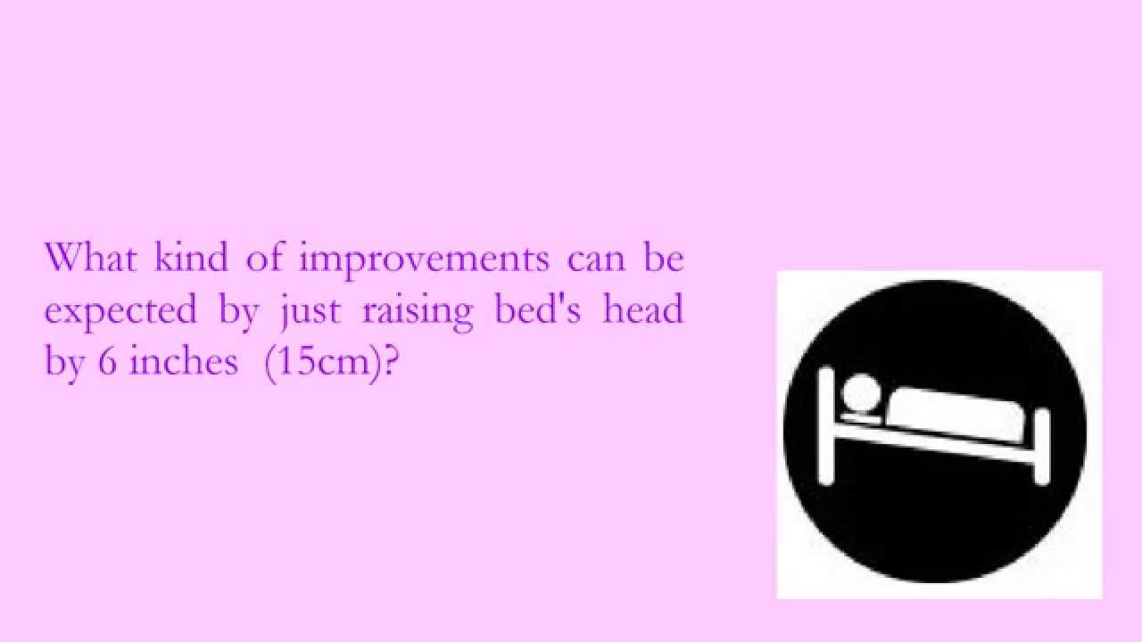 Inclined Bed Therapy Review [1] - YouTube