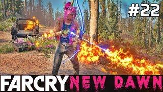 FAR CRY New Dawn Gameplay PL [#22] ZNISZCZENIE, Pożary, CHAOOS /z Skie
