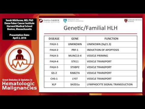 Diagnosis and management of Hemophagocytic lymphohistiocytosis (HLH)