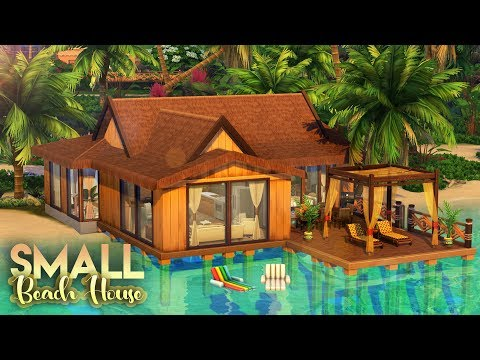 Repeat LUXURY HOLIDAY CABIN WITH POOL&SPA | The Sims 4 NO CC