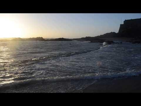 Grande Marée Saint-Malo : Mouvements d'eau au petit bé.(2)