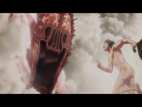 Eren Yeager Vs The Biggest Titan || Scene Shingeki No Kyojin S3 Eps 9 || Subtitle Indonesia