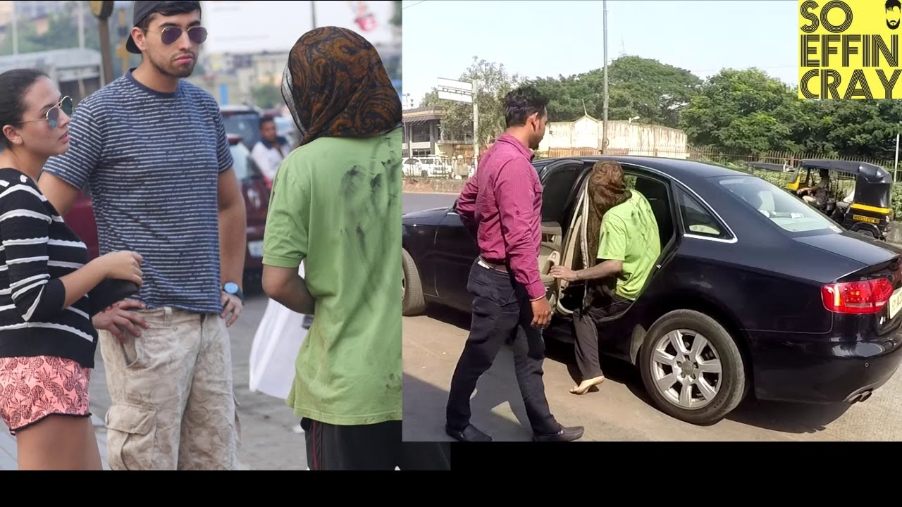 THE BEGGAR WHO OWNS AN AUDI CAR Prank Shocking Reactions YouTube - Who owns audi