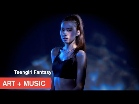 Teengirl Fantasy x Hoody (후디) - U Touch Me - Art + Music - MOCAtv
