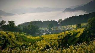 [중국여행] 무원, 중국에서 가장 아름다운 시골 / 婺源,  WuYuan / 하나투어 스티커
