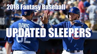 2018 Fantasy Baseball Sleepers UPDATED!