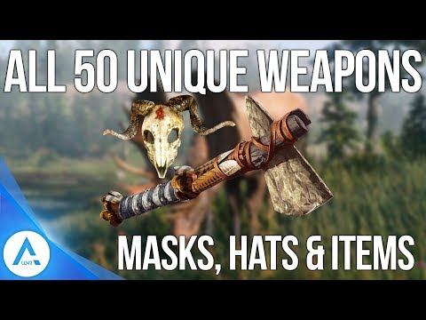 All 50 Unique Secret Weapons, Hats, Masks, Items and How to Get Them - Red Dead Redemption 2