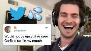 Andrew Garfield Reads Thirst Tweets